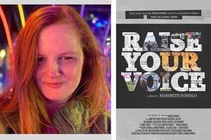 Maribeth Romslo Headshot + RYV Poster Template