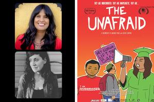 Anayansi Prado and Heather Courtney + UNF Poster Template