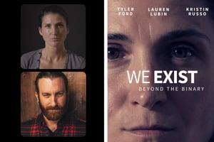 Lauren Lubin and Andrew Seger + WE Poster Template