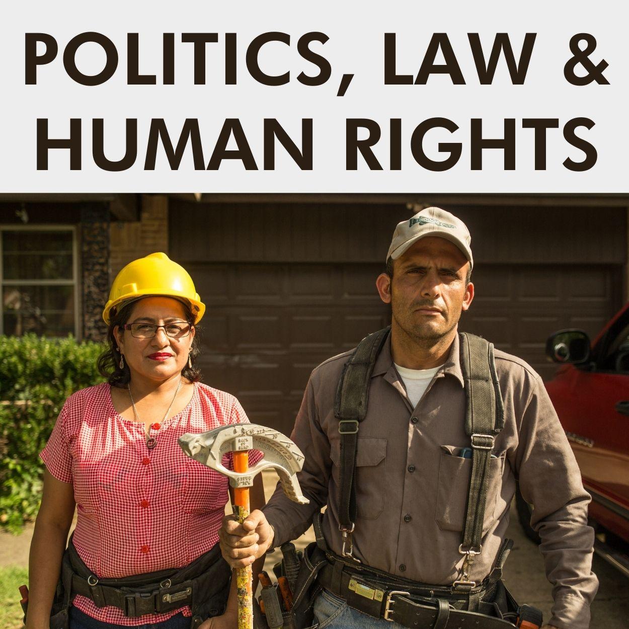 POLITICS, LAW & HUMAN RIGHTS (3)
